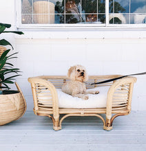 RATTAN DOG BED