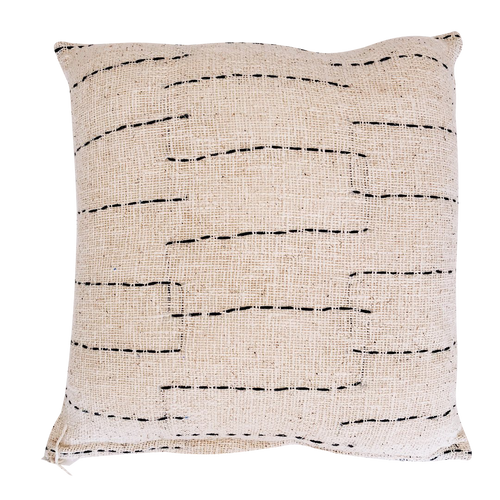 LINE CUSHION COVER | NATURAL