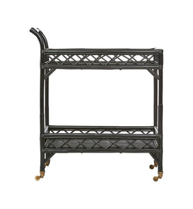 CRISS CROSS BAR CART BLACK