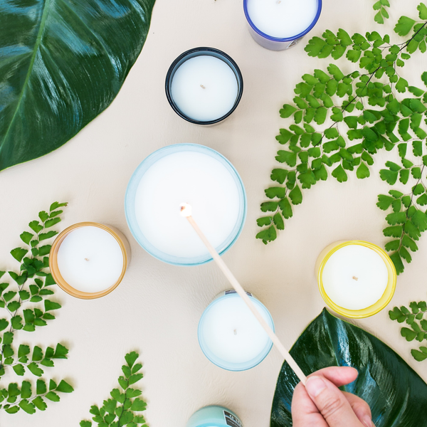 SHOP CANDLES + HOME FRAGRANCE