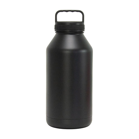 Annabel Trends Double Walled Stainless Steel Water - BIG BOTTLE 1.9L - Black
