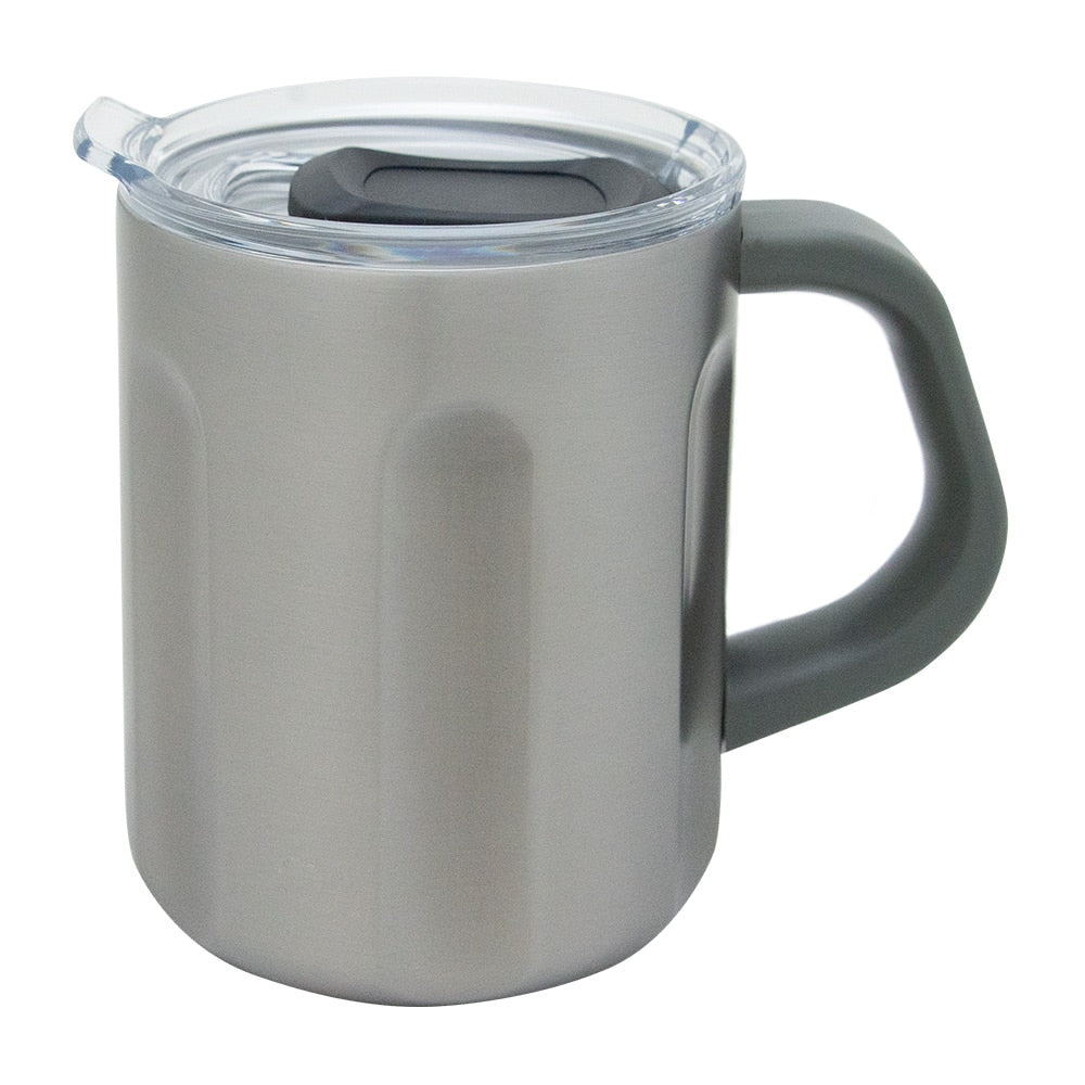 Annabel Trends - The Big Mug - Double Walled Stainless Steel - Titanium