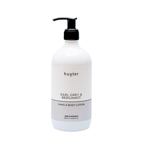 Huxter Hand & Body Lotion 500ml - Earl Grey & Bergamot