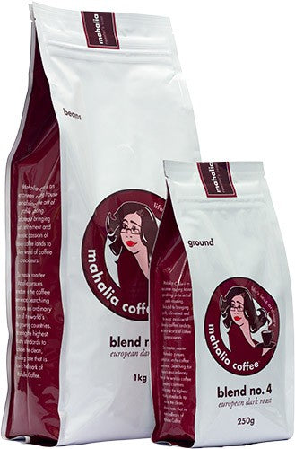 Blend No. 4 - European Dark Roast 1kg Beans
