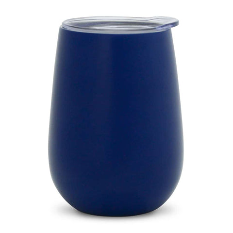 Annabel Trends Double Walled Wine Tumbler - Navy