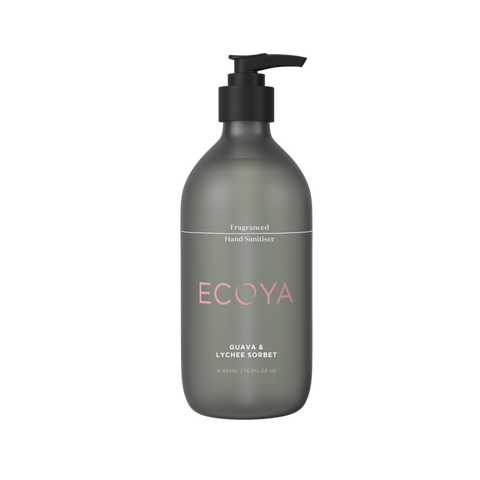 Ecoya - Hand Sanitiser - 450ml - Guava and Lychee