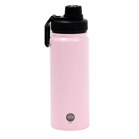 Annabel Trends Double Wall Stainless Steel Water Bottle 550mL - Pale Pink