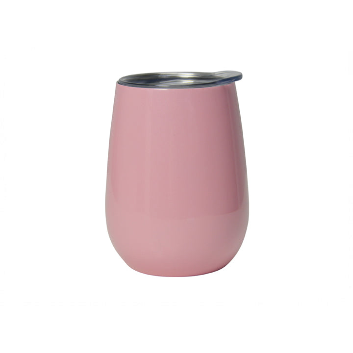 Annabel Trends Double Walled Wine Tumbler - Gloss Pink
