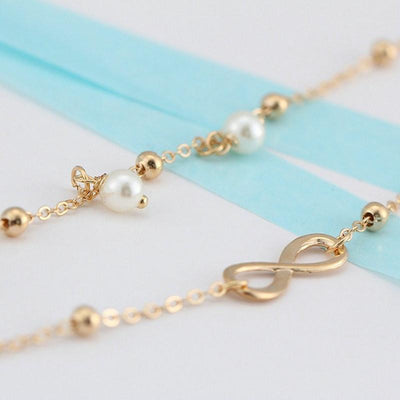 Infinite Anckle Chain - Gold or Silver - Spiritual Bliss Shop