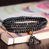 Natural Rainbow Obsidian & Tiger's Eye Multiwrap Bracelet - Spiritual Bliss Shop
