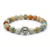 Gemstones Lion Bracelet (10 Options Available) - Spiritual Bliss Shop