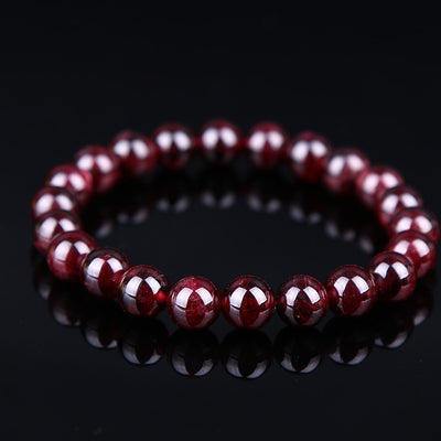 Natural Red Garnet Bracelet - Spiritual Bliss Shop