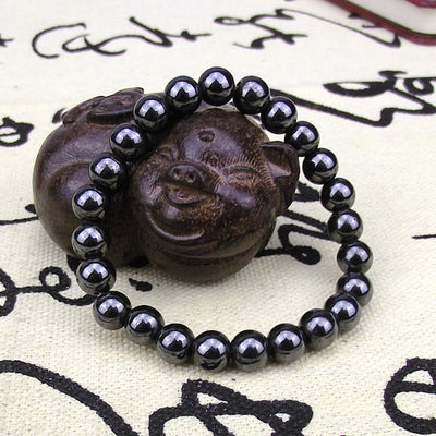 Hematite Bracelet for Grounding - Spiritual Bliss Shop