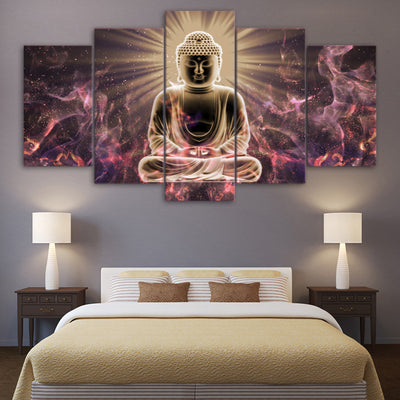 Limited Edition - Meditation Buddha Canvas - Spiritual Bliss Shop