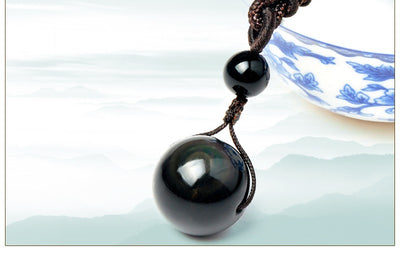 Rainbow Obsidian Necklace - Spiritual Bliss Shop
