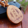Keychain Buddha - Peach-wood Sculpture - Spiritual Bliss Shop