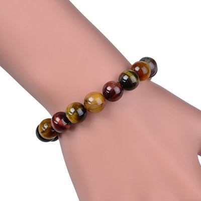 Colorful Tiger's Eye Bracelet (Vitality) - Spiritual Bliss Shop
