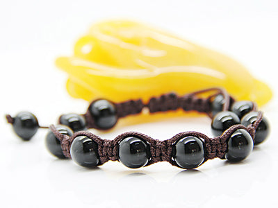 Onyx Bracelet (Adjustable) - Spiritual Bliss Shop