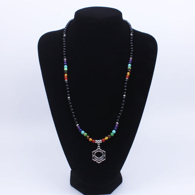 7 Chakras Necklace with Pendant - Spiritual Bliss Shop