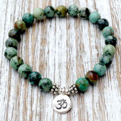 African Turquoise Bracelet - Spiritual Bliss Shop