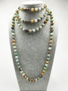 Long Amazonite Necklace - Spiritual Bliss Shop