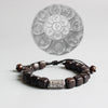 Six Words Mantra Sandalwood Bracelet (Safe & Sound) - Spiritual Bliss Shop
