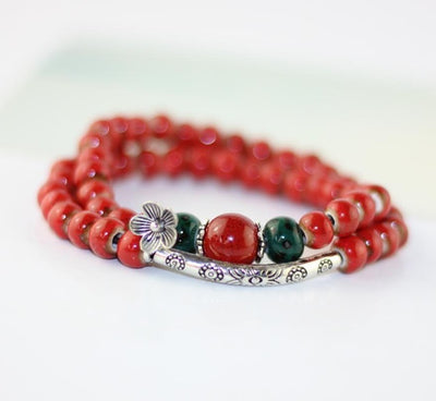 Ceramic Pearls Bracelet - 3 Colors Available - Spiritual Bliss Shop