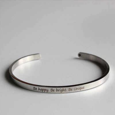 Be Happy. Be Brave. Be Unique - Spiritual Bliss Shop