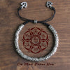 Tibetan Buddhist Six True Mantra Words Bracelet - Spiritual Bliss Shop