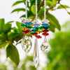 3Pcs/Set 7 Chakra Prism Crystal Suncatcher (Feng Shui) - Spiritual Bliss Shop