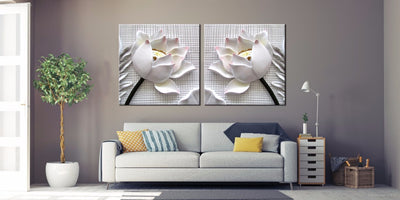 Limited Edition Lotus Flower Canvas [no frame] - Spiritual Bliss Shop