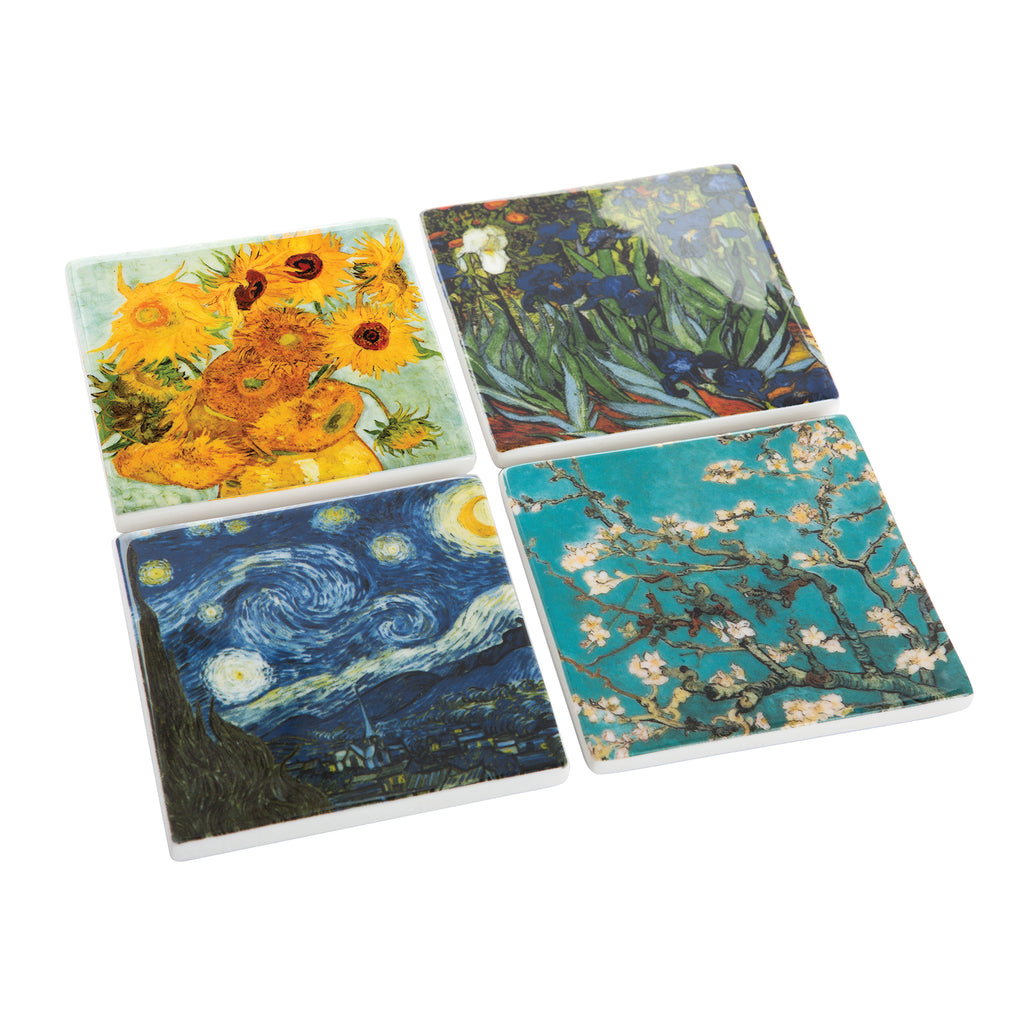 Set of 4 Van Gogh Coasters