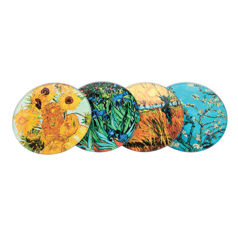 Van Gogh - Glass Coaster (4 Pack)