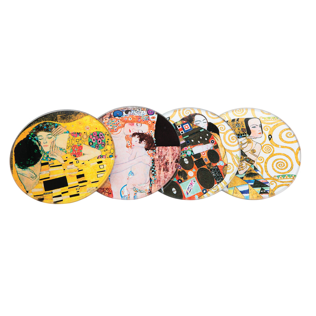 Klimt - Glass Coaster (4 Pack)