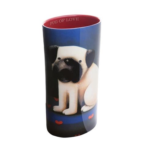 Doug Hyde Pug of Love Vase