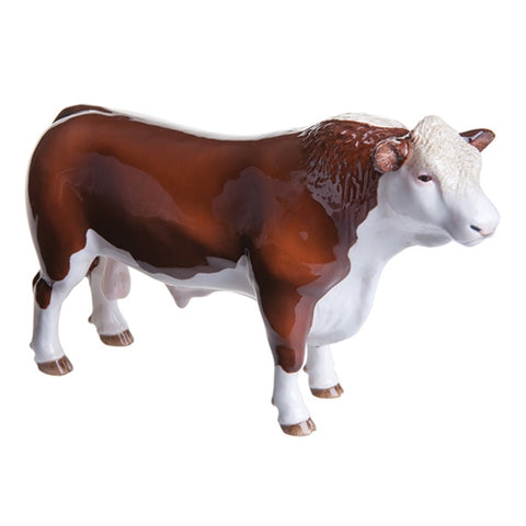 Hereford Bull (Polled)