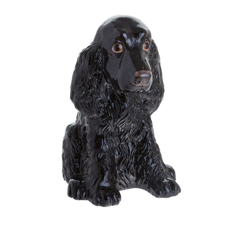 Cocker Spaniel Black Money Bank