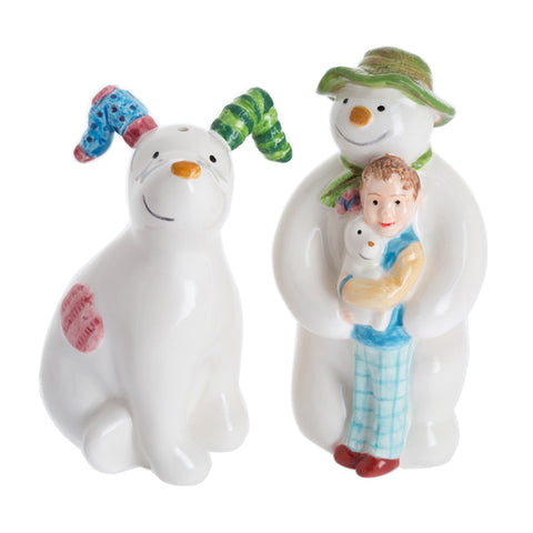 The Snowman & the Snowdog Salt and Pepper Pots