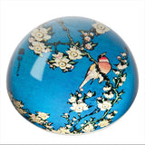 Hokusai - Birds/ Flowers Paperweight