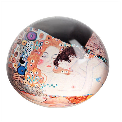 Klimt - Three Ages Of Women Paperweight
