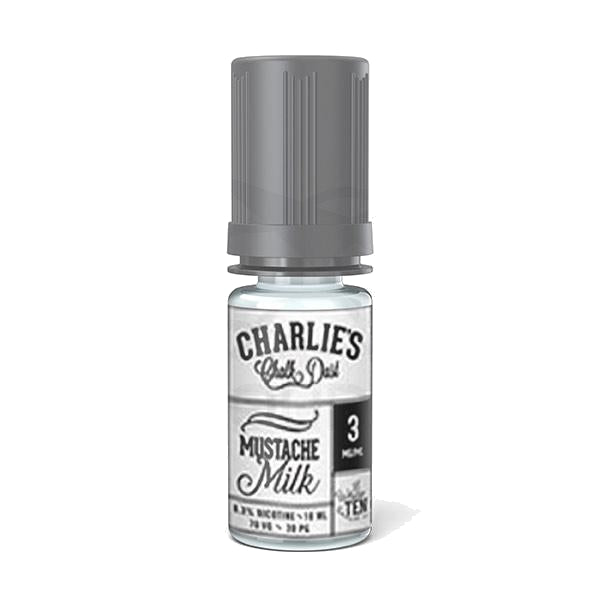 Vape Angels Mustache Milk eLiquid by Charlie's Chalk Dust