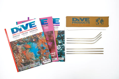 UK Print & Digital Subscription + Free Steel Straws