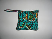Collapsible kitenge shopping bag (zipped)