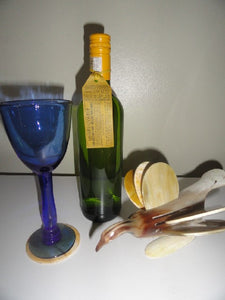Cow-horn Bird with Set of 6 coasters