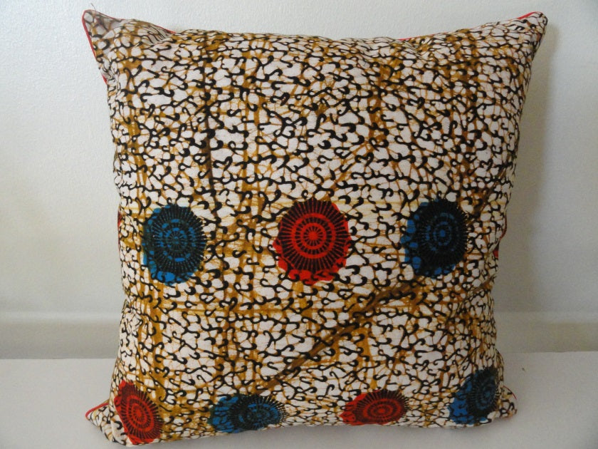 African Print Decorative Cushions