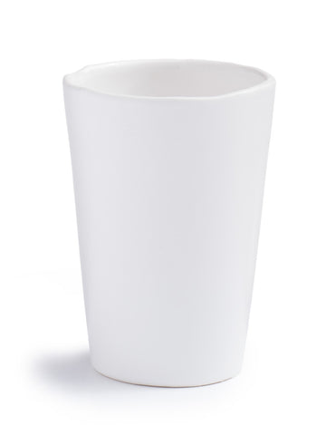 White Glazed Tumbler