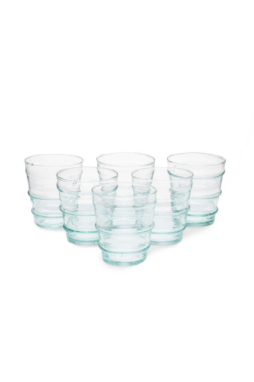 Handblown Glass Tumbler (Set of 6)