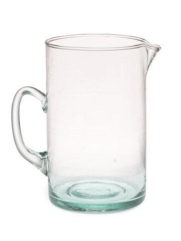 Handblown Glass Pitcher