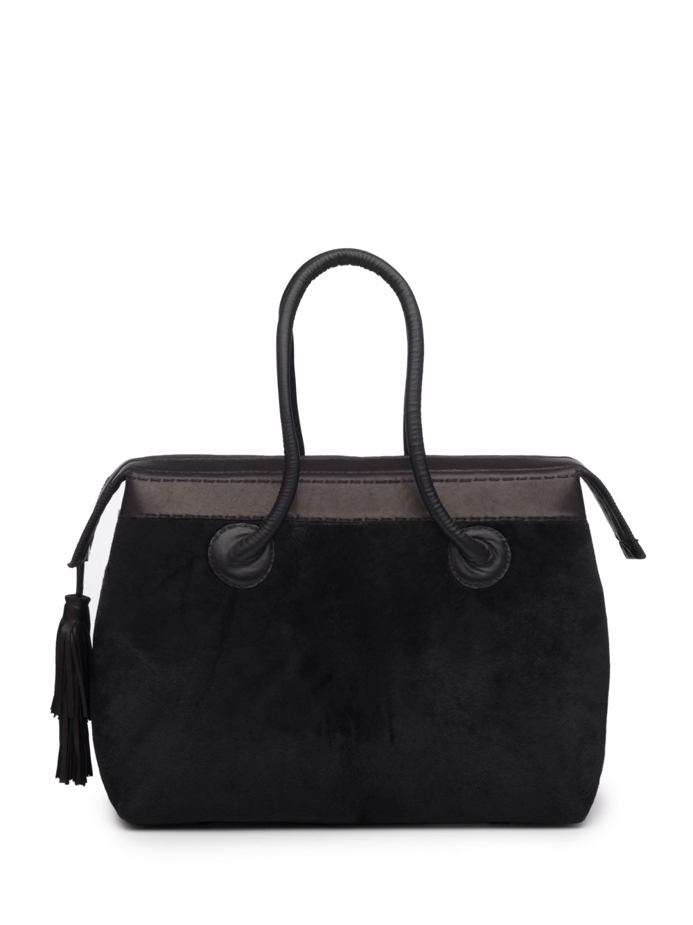 Black Pony Handbag