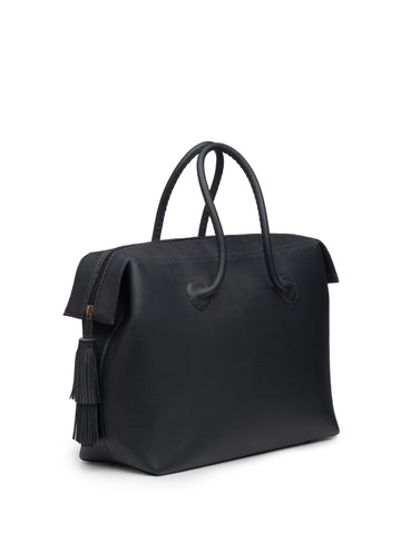 Classic Midnight Blue Weekend Bag